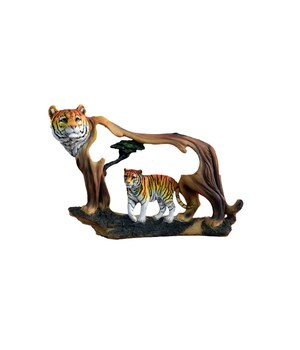 TIGER IN TIGER CUTOUT 9 in.