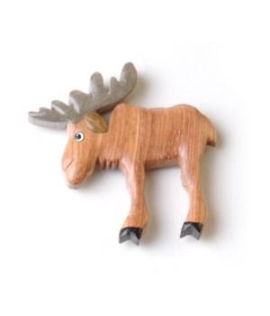 Moose Keyring Set of 6