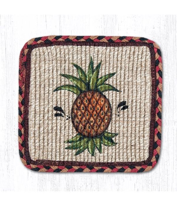 WW-375 Pineapple Wicker Weave Trivet 9 in.x9 in.x0.17 in.