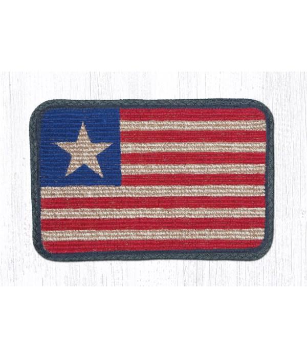 WW-1032 Original Flag Wicker Weave Swatch 10 x 15 x 0.17 in.