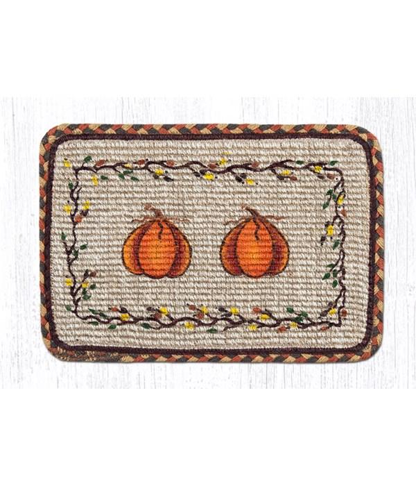 WW-222 Harvest Pumpkin Wicker Weave Swatch 10 x 15 x 0.17 in.