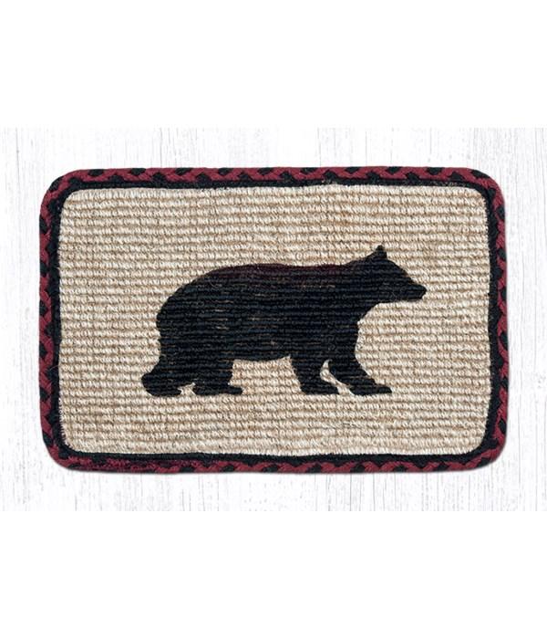 WW-395 Cabin Bear Wicker Weave Swatch 10 x 15 x 0.17 in.