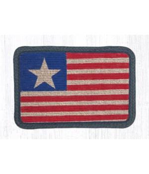 WW-1032 Original Flag Wicker Weave Placemat 13 in.x19 in.x0.17 in.