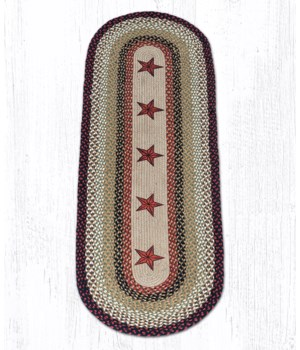 OP-19 Barn Stars Oval Patch 2'x6'x0.17 in.