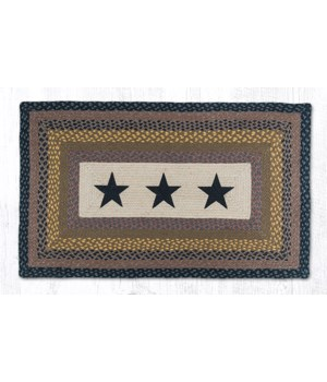 PP-99 Black Stars Oblong Patch 27 x 45 x 0.17 in.