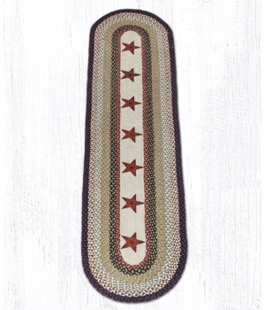 OP-19 Barn Stars Oval Patch 2'x8'x0.17 in.