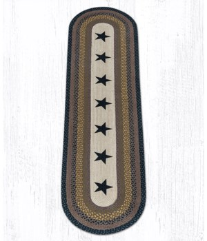 OP-99 Black Stars Oval Patch 2'x8'x0.17 in.
