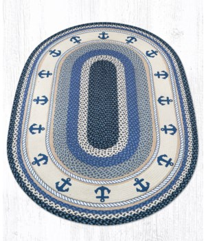 OP-443 Anchor Oval Patch 4'x6'x0.17 in.