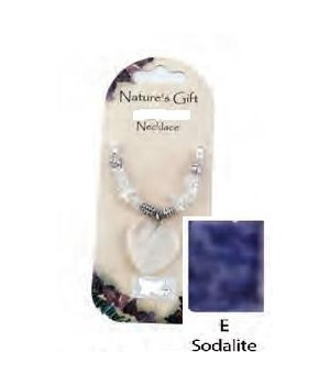 Sodalite Heart Pendant Set of 6
