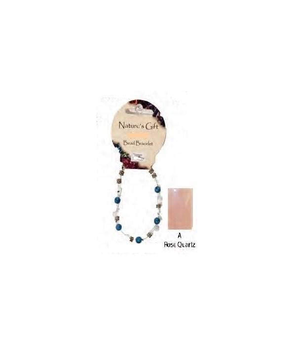 Rose Quartz 6MM Bracelet Set of 6