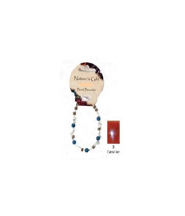 Carnelian 6MM Bracelet Set of 6