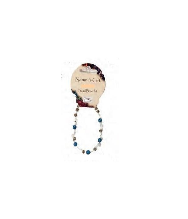 Howlite 6MM Bracelet Set of 6