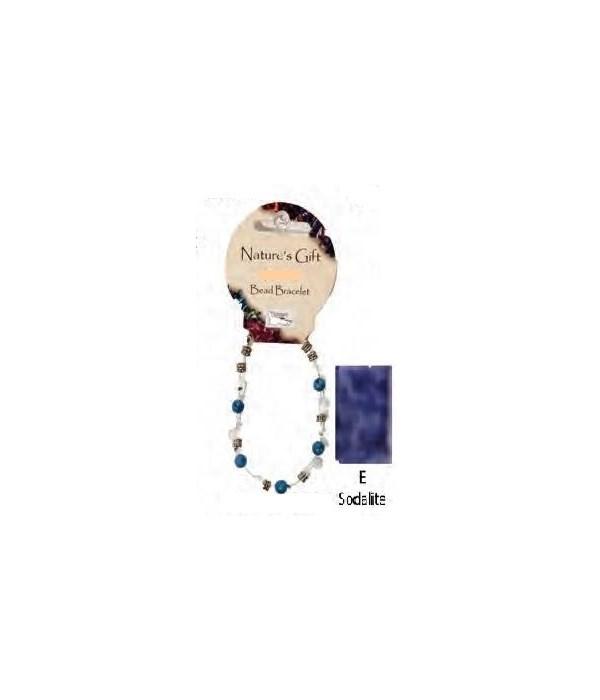 Sodalite 6MM Bracelet Set of 6