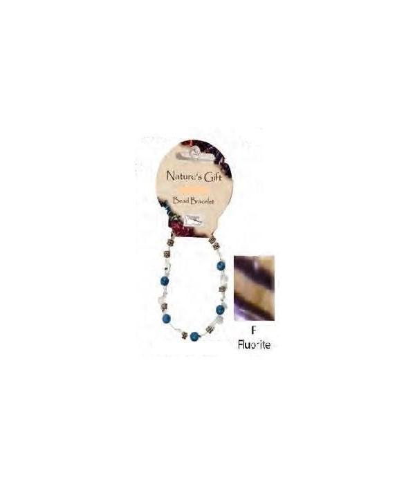 Fluorite 6MM Bracelet Set of 6