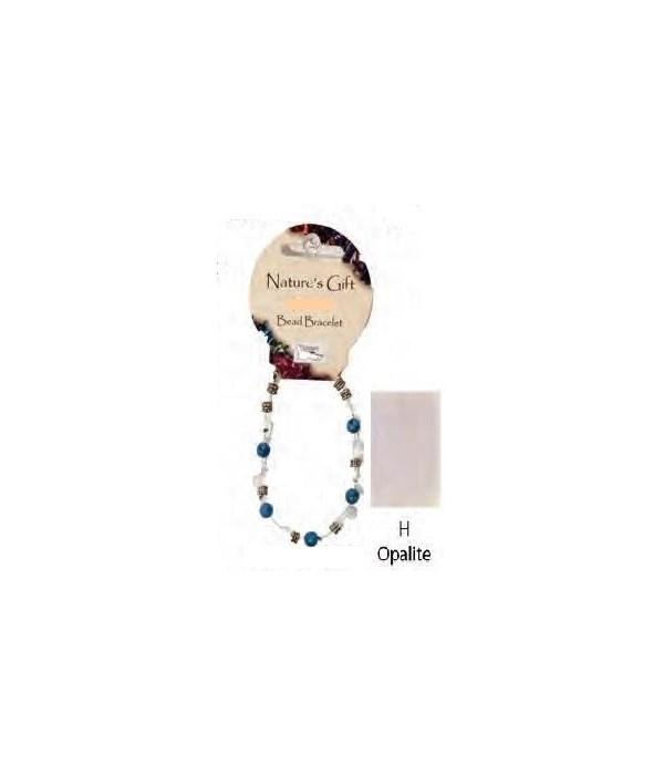 Opalite 6MM Bracelet Set of 6