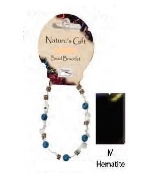 Hematite 6MM Bracelet Set of 6