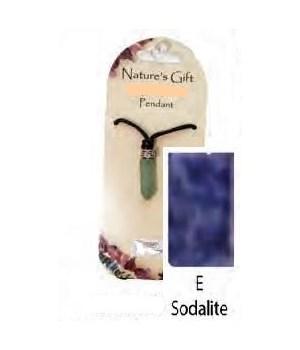 Sodalite Gem Point Pendant Set of 6