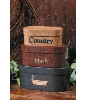 Nesting Boxes - Country Bath