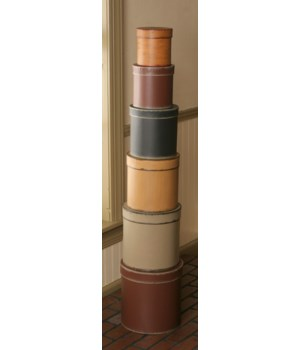 Nesting Boxes - Primitive Colors, Round