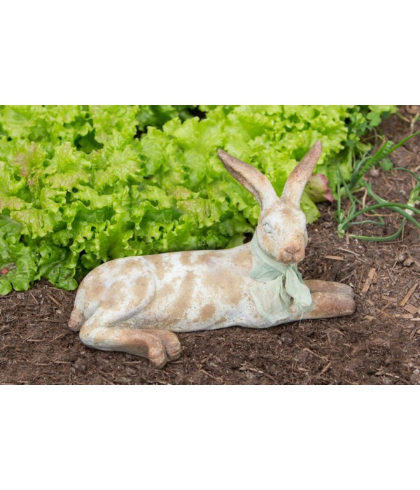 Cottage Bunny - Lying Down 9.5 in. x 16 in.