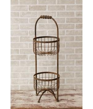 Tiered Garden Basket