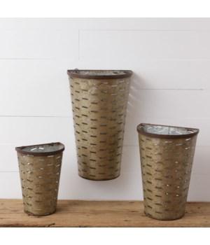 Wall Decor - Olive Buckets