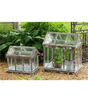 Greenhouse - Wood and Glass