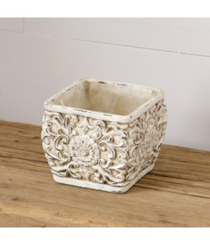 Planter - Floral, Small (Pk 2)