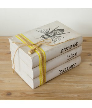 STAMPED BOOKS - SWEET LIKE HONEY 5 x 8.25 x 5.5 in.