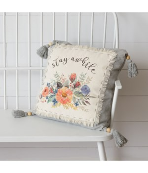 Pillow - Stay Awhile 25 H x 25 W x 5 D in.