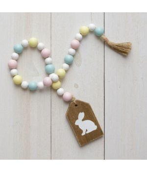 Farmhouse Beads - Bunny 33 L in.
