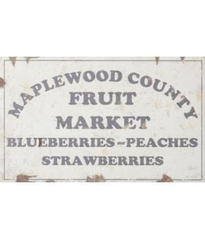 Sign - Fruit Market