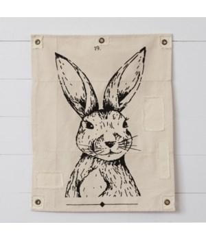 Canvas Wall Hanging - Rabbit