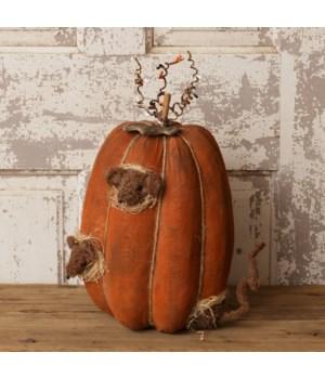 Grungy Pumpkin - Peeping Mice