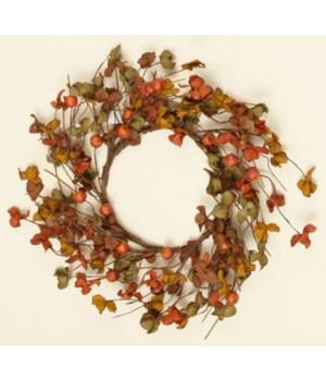 Wreath - Autumn Flowers & Berries