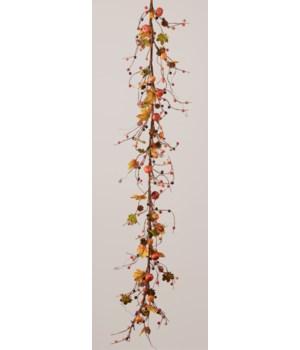 Garland - Pumpkins, Pinecones, & Autumn Berries
