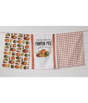 Pumpkin Pies - Tea Towels