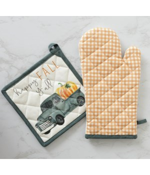 Pick Of The Patch - Oven Mitt And Pot Holder