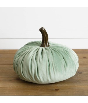 Medium Velvet Pumpkin, Green