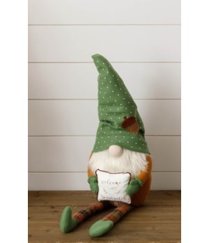 Welcome To Our Patch Gnome Shelf Sitter