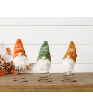 Fall Gnomes On Springs