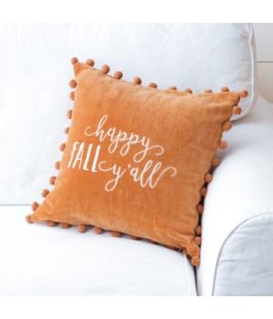 Pillow - Happy Fall Y'all