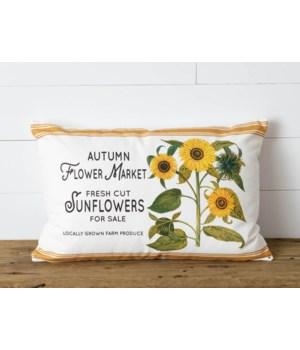 Pillow - Autumn Flower Market