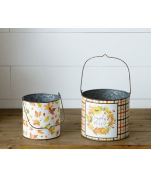 Harvest Home - Tins With Handles