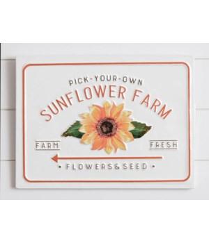 Sign - Sunflower Farm