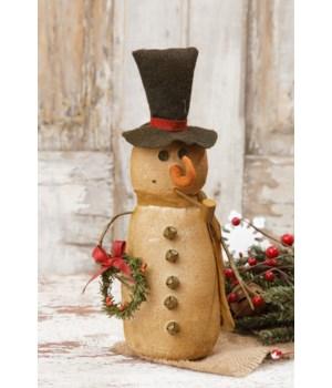 Snowman - Scarf & Wreath
