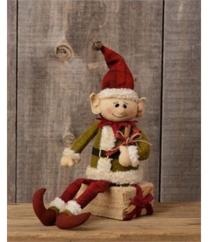 Elf - Sitting On Gift