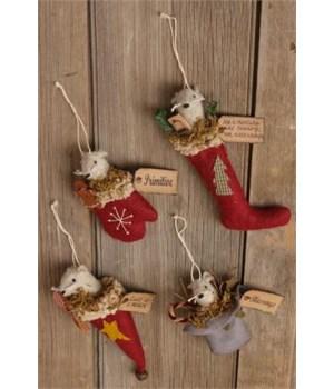 Ornaments - Primitive Mice