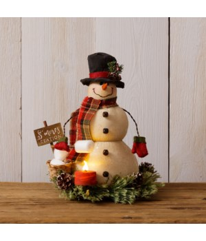 Snowman - S'more Station
