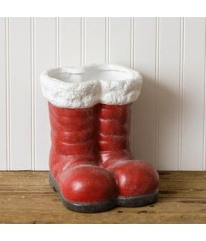 Santa Boots Planter